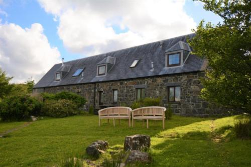 View of the back of the house - relax with a loch view