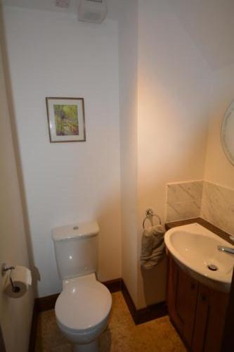 A downstairs WC for others to use