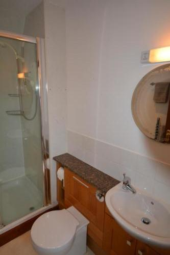 Make use of the fully-equipped family bathroom